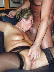 This aged woman can slurp big cock wholly