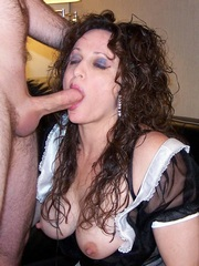 Kinky ex wife show her cocksucking..