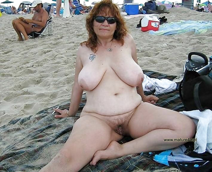 Are not Middle aged big tits naked