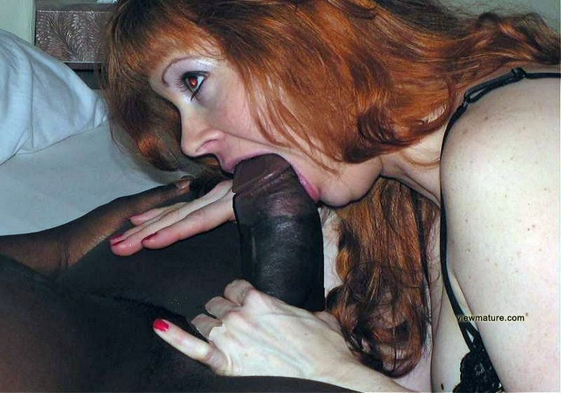 Mature White Black Dick
