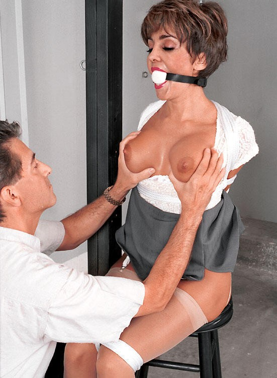 Mature ladies tied up