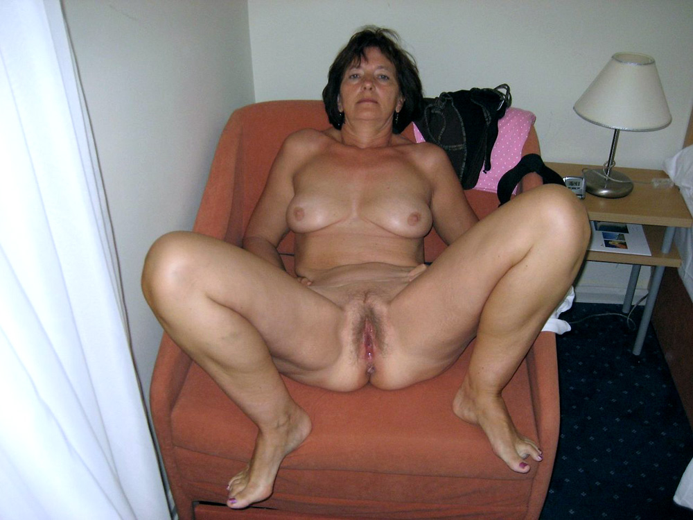 Drunk hairy mature