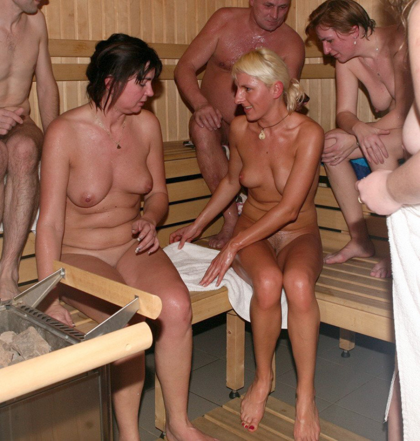 Naked finnish girls in sauna